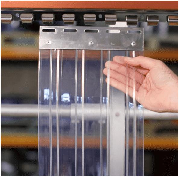 Подбираем ПВХ завесу: 5 шагов к выбору идеальной ленты - фото - статья на блоге компании ВСВ-Групп