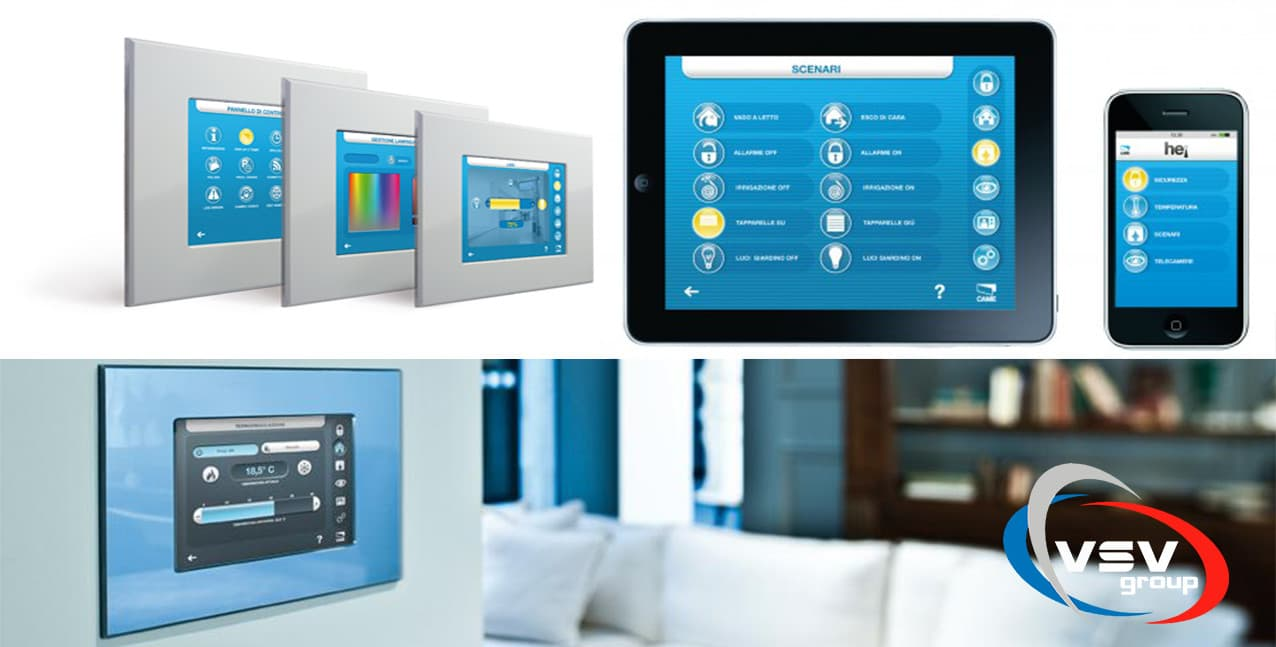 Система «Умный дом» CAME hei – технология, опережающая будущее - фото - статья на блоге компании ВСВ-Групп