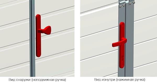 Новые аксессуары для секционных ворот Alutech - фото - новость от компании ВСВ-Групп