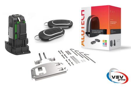 Автоматика Alutech Roto RTO-2000KIT – комплект приводу для відкатних воріт (вага до 2000 кг) - фото - продукция компании ВСВ-Групп