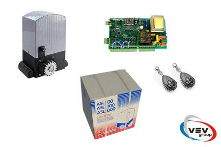 Автоматика AN-Motors ASL2000Kit – комплект привода для откатных ворот (вес до 2000 кг) - фото - продукция компании ВСВ-Групп