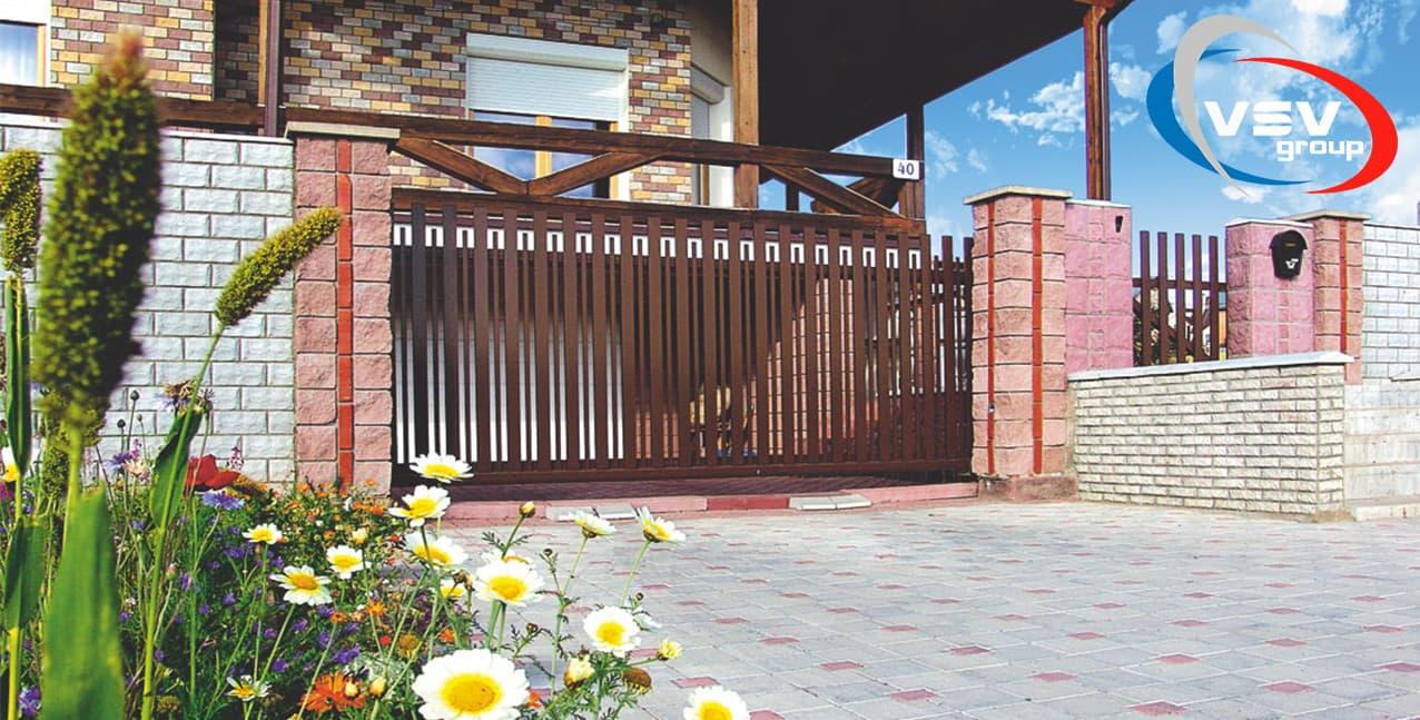 Образцы откатных ворот в красноярске domiks автоматические ворота