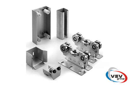 Комплект стальной фурнитуры Comunello PICCOLA до 800 кг для откатных ворот - фото - продукция компании ВСВ-Групп