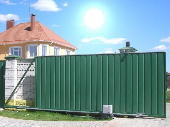Статья об откатных воротах - фото - акции от компании ВСВ-Групп