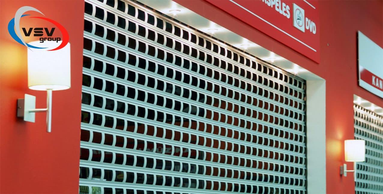 Роллетные решетки: идеальное решение для бизнеса - фото - статья на блоге компании ВСВ-Групп
