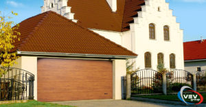 Виды гаражных ворот - фото