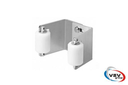 Сталевий комплект фурнітури Comunello PICCOLA до 800 кг для відкатних воріт - фото - продукция компании ВСВ-Групп
