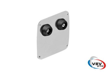 Комплект оцинкованной фурнитуры Comunello MINI до 500 кг для откатных ворот - фото - продукция компании ВСВ-Групп