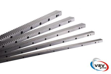 Зубчатая рейка для откатных ворот - фото - продукция компании ВСВ-Групп