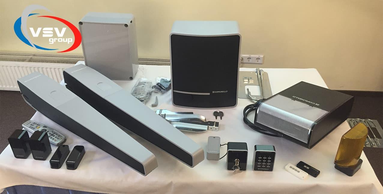 Автоматика Comunello входит на рынок Украины: качество и стиль в каждой детали - фото - новость от компании ВСВ-Групп