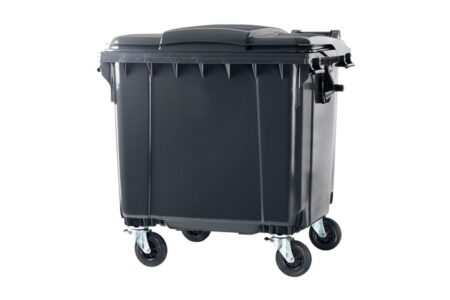 Сміттєвий контейнер ESE 1100 л Сірий - фото - продукция компании ВСВ-Групп