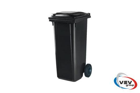 Сміттєвий контейнер ESE 120 л Сірий - фото - продукция компании ВСВ-Групп