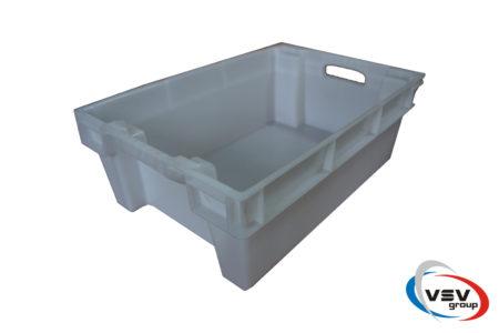 Ящик пластиковый конусный 600x400x200 мм - фото - продукция компании ВСВ-Групп