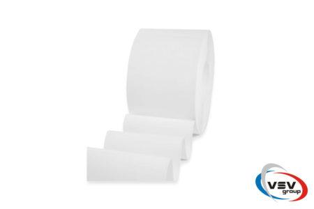Белая сигнальная лента пвх 200х2 мм матовая - фото - продукция компании ВСВ-Групп