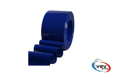Цветная лента пвх 200х2 мм матовая синяя - фото - продукция компании ВСВ-Групп