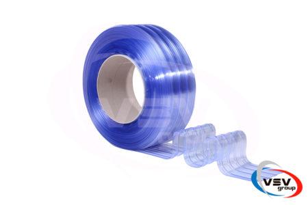 Ребристий матеріал пвх для термозавіс 200х2 мм холодостійкий - фото - продукция компании ВСВ-Групп
