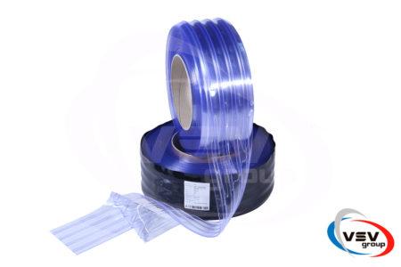 Ребристый материал пвх для термозавес 200х2 мм хладостойкий 1 пог.м. - фото - продукция компании ВСВ-Групп