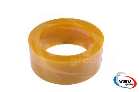 Пвх лента 200х2 мм антимоскитная желтая - фото - продукция компании ВСВ-Групп