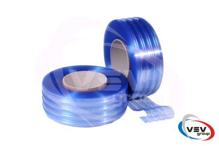Ребристая пвх лента 200х2 мм стандартная прозрачная 1 пог.м. - фото - продукция компании ВСВ-Групп