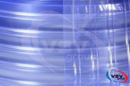 Ребриста прозора стрічка ПВХ 300х2 мм - фото - продукция компании ВСВ-Групп