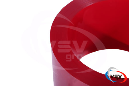 Цветная пвх лента 300х2 мм красная - фото - продукция компании ВСВ-Групп