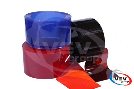Кольорова пвх стрічка 300х2 мм червона - фото - продукция компании ВСВ-Групп