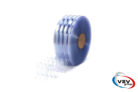 Ребристая пвх лента 400х4 мм хладостойкая - фото - продукция компании ВСВ-Групп