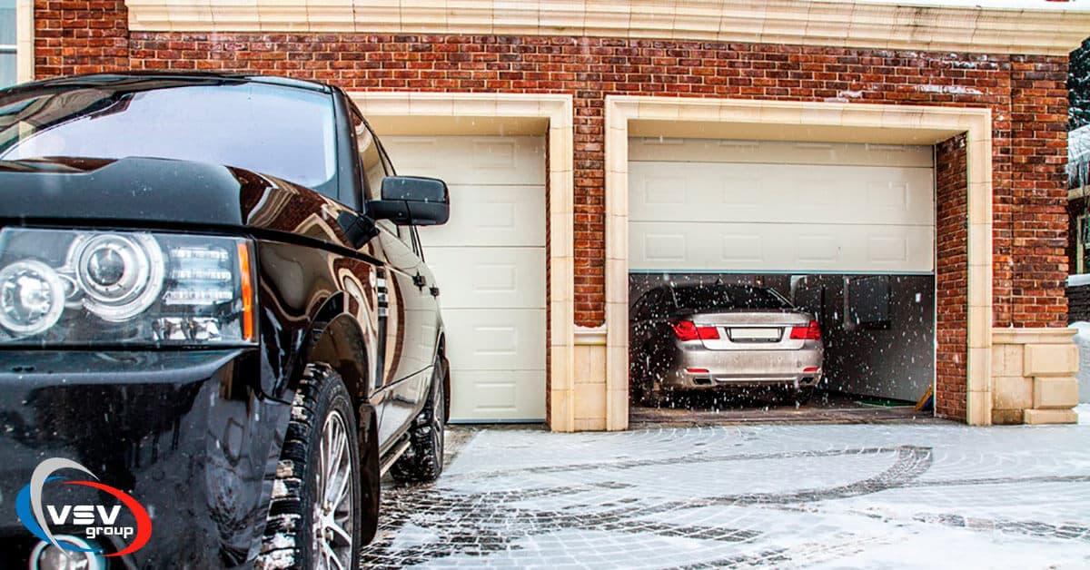 Как утеплить гаражные ворота - фото - акции от компании ВСВ-Групп