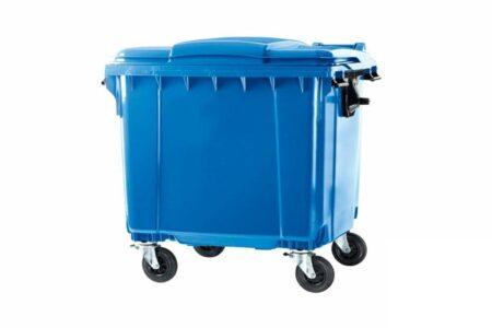 Сміттєвий контейнер ESE 1100 л Cиний - фото - продукция компании ВСВ-Групп