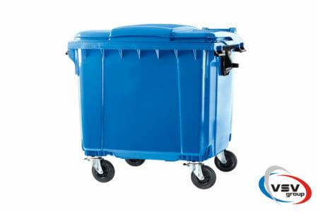 Мусорный контейнер ESE 1100 л Cиний - фото - продукция компании ВСВ-Групп