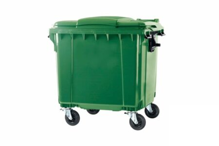 Мусорный контейнер ESE 1100 л Зелёный - фото - продукция компании ВСВ-Групп