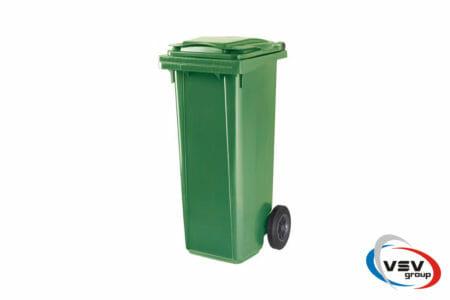 Мусорный контейнер ESE 120 л Зелёный - фото - продукция компании ВСВ-Групп