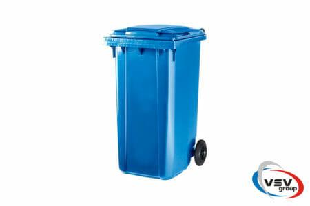 Мусорный контейнер ESE 240 л Синий - фото - продукция компании ВСВ-Групп