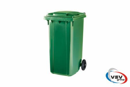 Сміттєвий контейнер ESE 240 л Зелений - фото - продукция компании ВСВ-Групп