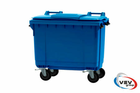 Сміттєвий контейнер ESE 660 л Синій - фото - продукция компании ВСВ-Групп