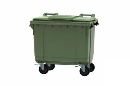 Сміттєвий контейнер ESE  660 л Зелений - фото - продукция компании ВСВ-Групп