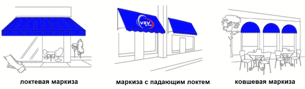 Что представляют собой маркизы для террас - фото - статья на блоге компании ВСВ-Групп