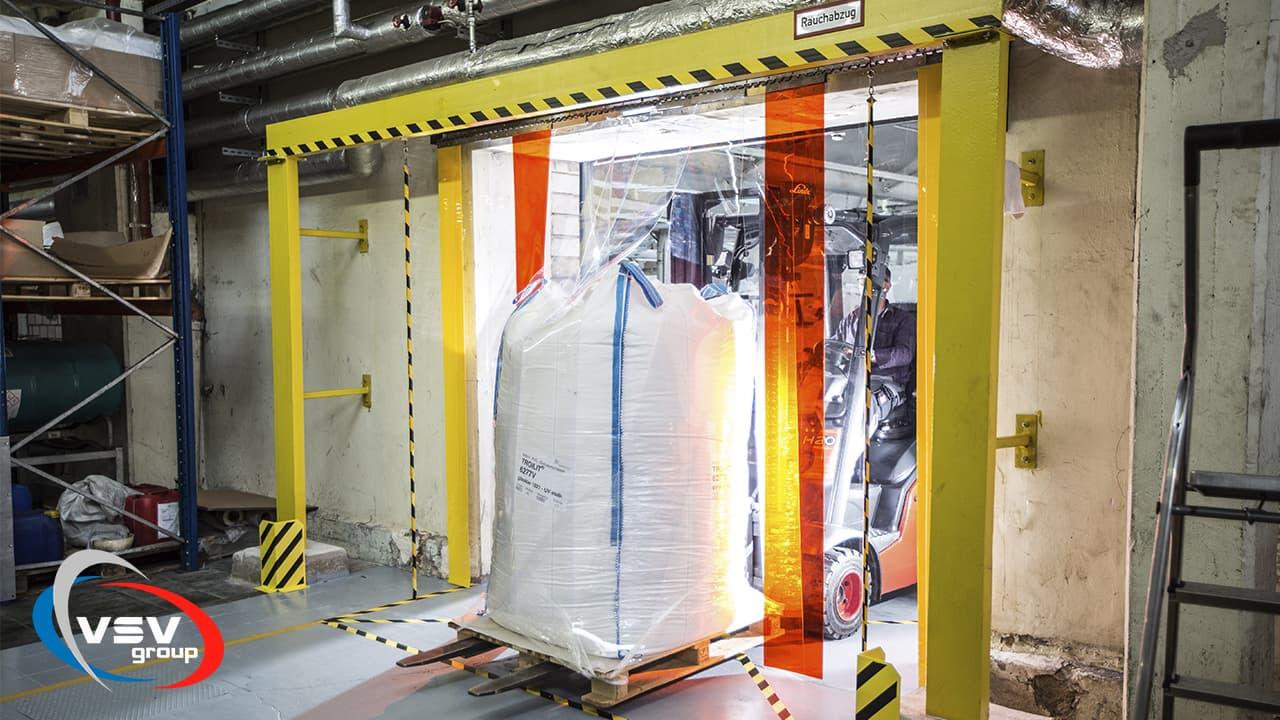 ПВХ завесы – особенности, преимущества и эксплуатация изделий - фото - акции от компании ВСВ-Групп