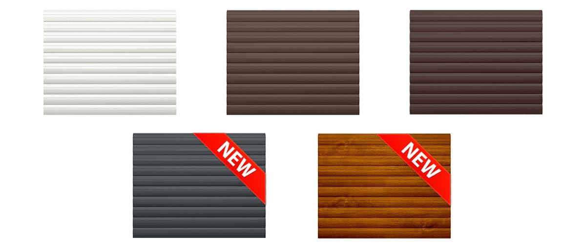 Новые цветовые исполнения роллет Prestige - фото - новость от компании ВСВ-Групп