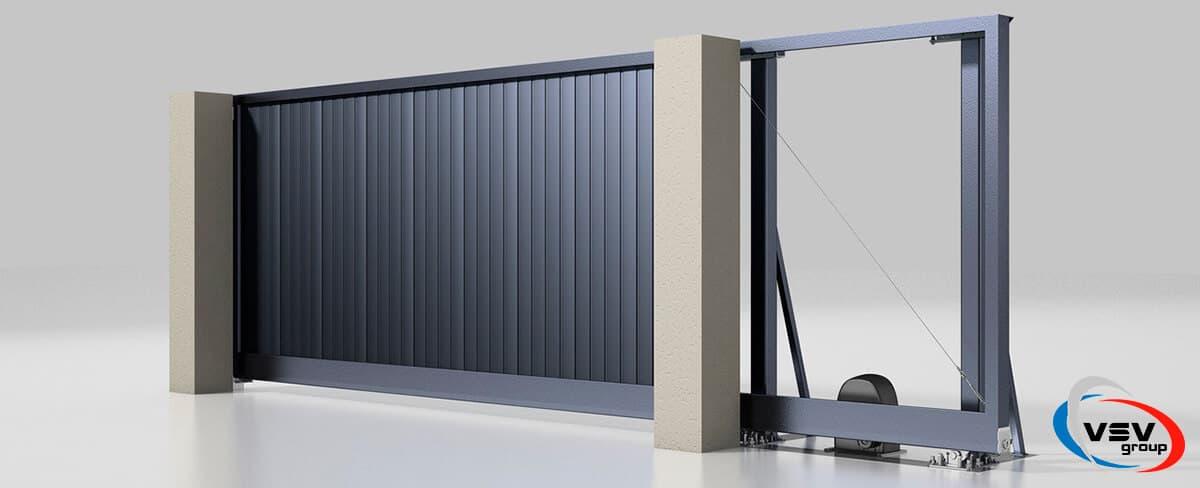 Как выбрать ворота для частного дома - фото - статья на блоге компании ВСВ-Групп