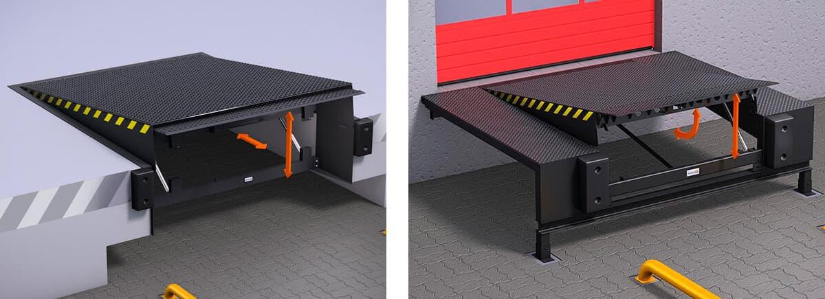 Перегрузочный мост: механика против гидравлики - фото - статья на блоге компании ВСВ-Групп