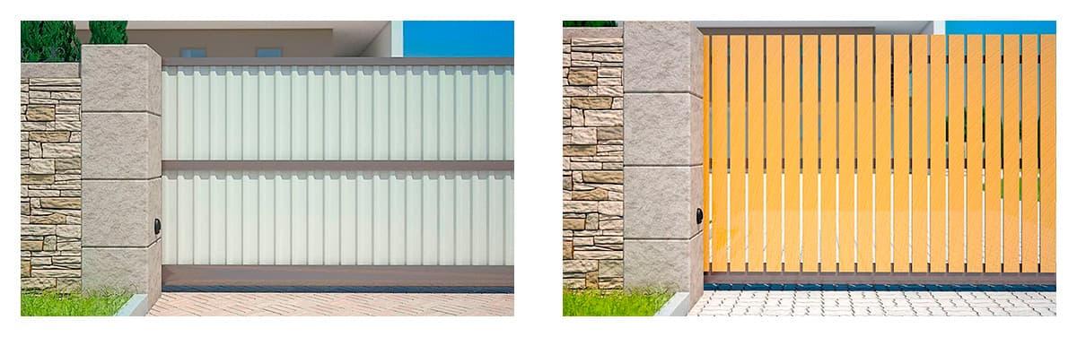 В'їзні ворота Prestige – ексклюзивне рішення для дому - фото - статья на блоге компании ВСВ-Групп