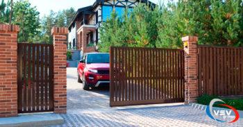 Эксклюзивное решение для дома - въездные ворота Prestige - фото