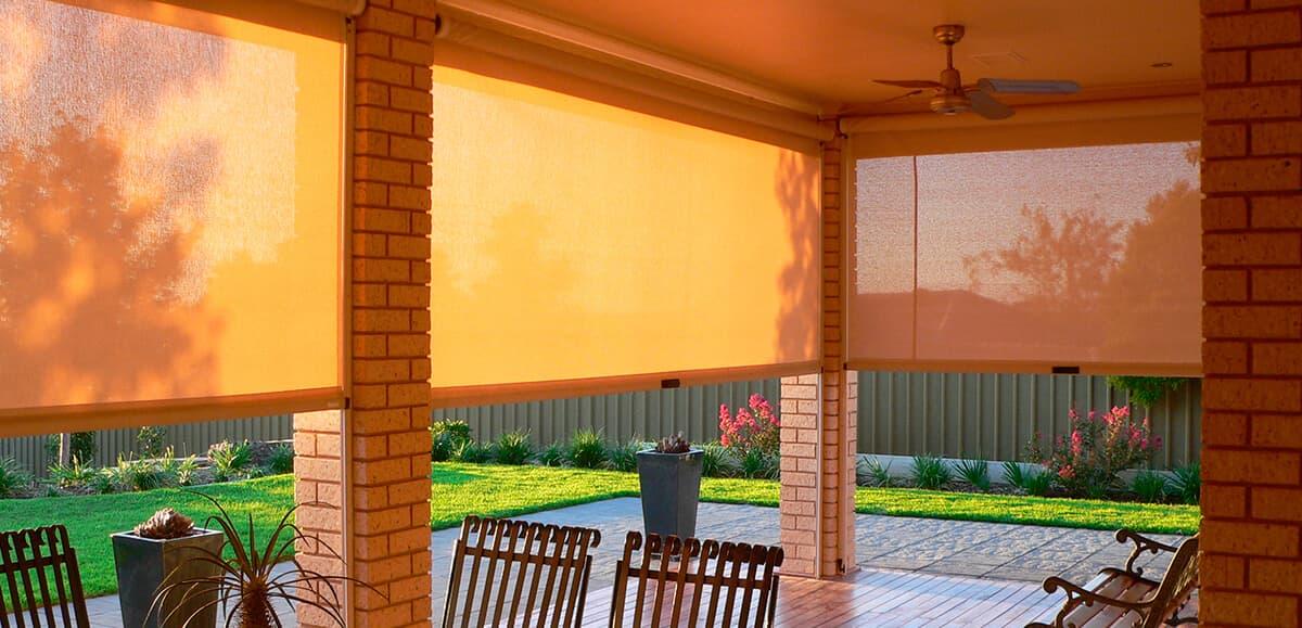 Як захистити альтанку від сонця, вітру і дощу? - фото - статья на блоге компании ВСВ-Групп