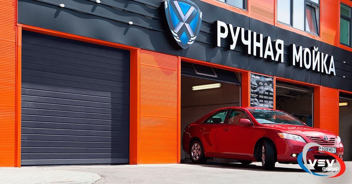 Чем отличаются бытовые гаражные ворота от промышленных? - фото - акции от компании ВСВ-Групп