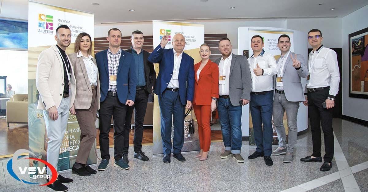 Встреча партнеров «Алютех»: сотрудничество, освещенное кипрским солнцем - фото - новость от компании ВСВ-Групп