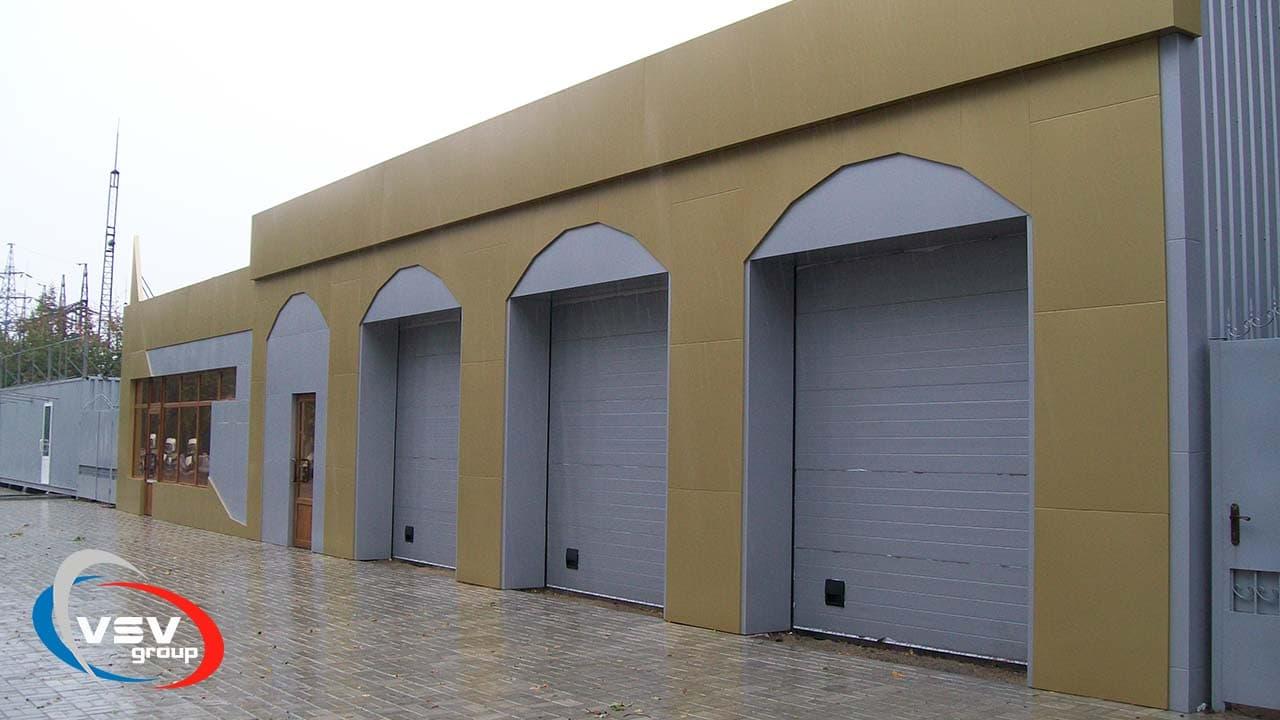 Автоматические ворота для паркингов