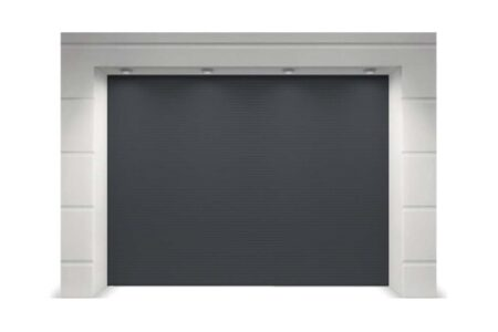 Гаражні ворота серії Trend 2625х2500 в кольорі сірий антрацит - фото - продукция компании ВСВ-Групп