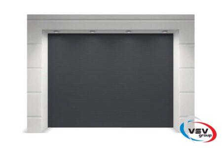 Гаражные ворота серии Trend 2625х2500 в цвете серый антрацит - фото - продукция компании ВСВ-Групп