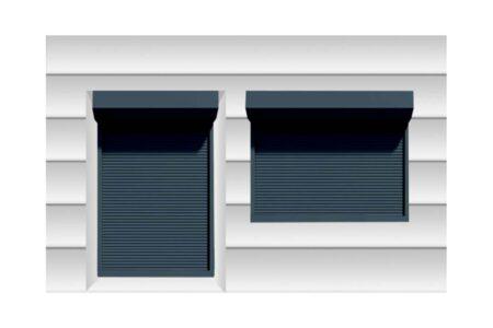 Теплые роллеты для дверного проема 1400х2200 серии Prestige - фото - продукция компании ВСВ-Групп